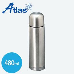 アトラス ステンレススリムボトル480ml