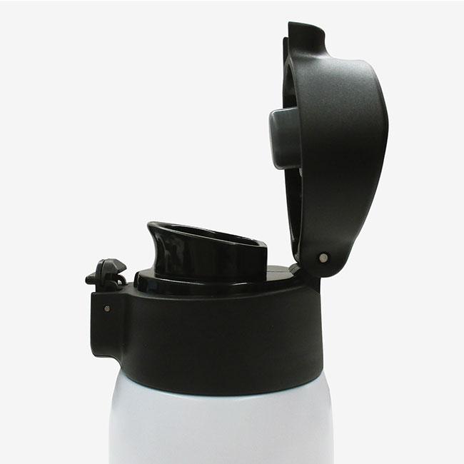 アトラス 軽量ワンタッチマグボトル500ml(atASW-500)オープン時