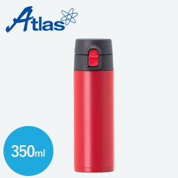 アトラス ステンレスワンタッチ軽量スリムマグボトル350ml