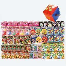 サイコロ出た目の数だけプレゼント おもちゃ(約35人用)