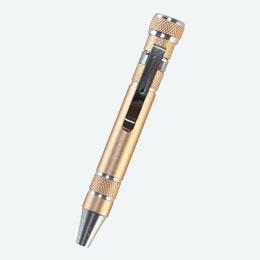 金色の工具ペン
