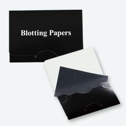 あぶらとり紙 ブラック(20枚入)