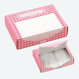 コットンパフ(10枚入)BOX