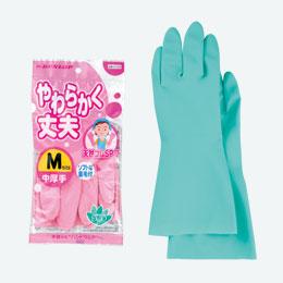 天然ゴム手袋(中厚)