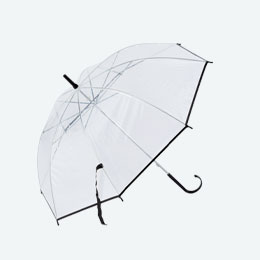ビニール傘 ブラック