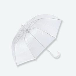ジャンプ傘(透明)
