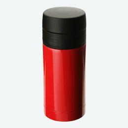 ステンレスサーモボトル(250ml)(赤)