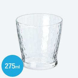 炭酸水グラス(フリーカップ)(275ml)(クリア)