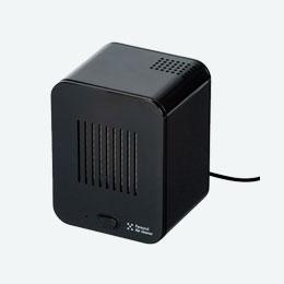 パーソナル空気清浄機(黒)