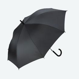 ジャンプ傘(60cm×8本骨)(黒)