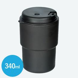 ダブルウォールマグ(340ml)(黒)