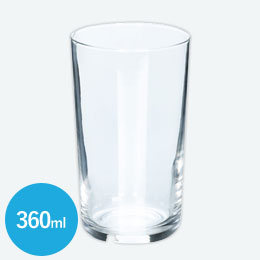 ライトグラス(360ml)(クリア)