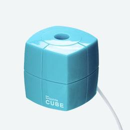 ペットボトル加湿器(キューブ)(ブルー)