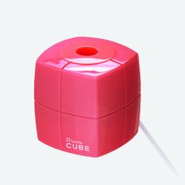 ペットボトル加湿器(キューブ)(ピンク)