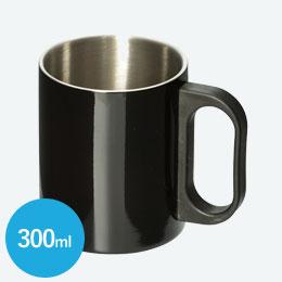 ステンレスマグ(300ml)(黒)