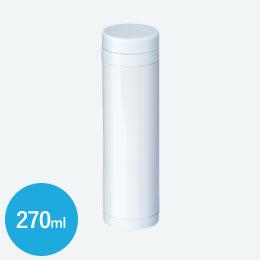 昇華転写対応スリムステンレスサーモ(270ml)(白)