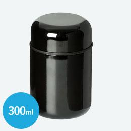 スプーン付ステンレスフードポット(300ml)(黒)