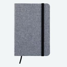 ファブリックノートブック(グレー)