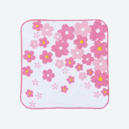 桜ハンドタオル