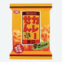 亀田製菓 21g カレーせんミニ