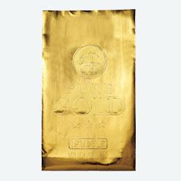 ゴールド紙袋(中)