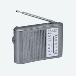 ワイドFM対応ポータブルラジオ(AM/FM)