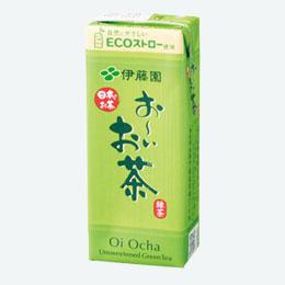 伊藤園紙パック250ml おーいお茶