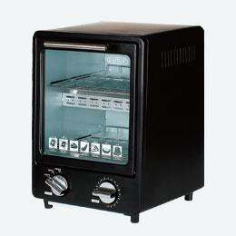 縦型オーブントースター ブラック