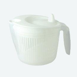 クリス 野菜水切り器 ホワイト