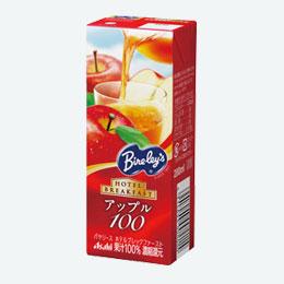 バヤリース果汁100%ジュースアップル