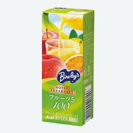 バヤリース果汁100%ジュースフルーツ5
