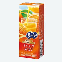 バヤリース果汁100%ジュースオレンジ