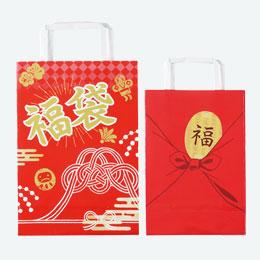 ふろしき小判福袋 手提げ(小)