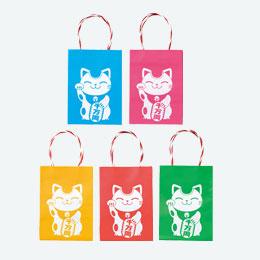 プチ袋(福 まねき猫)