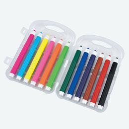 ケース入水性ペン12色(在庫限り商品)