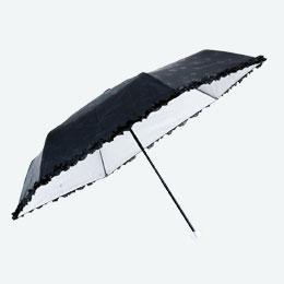 ドットフラワー晴雨兼用折りたたみ傘
