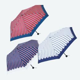 マニッシュストライプ・折りたたみ傘