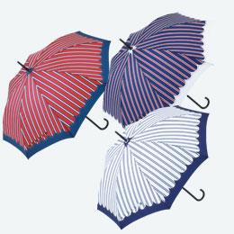 マニッシュストライプ・ジャンプ傘