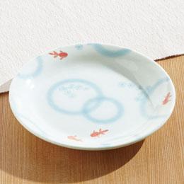 うわみ金魚 平皿