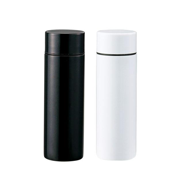 セルトナ・ポケットサイズ真空ステンレスボトル(sd203331-6)ブラック,ホワイト