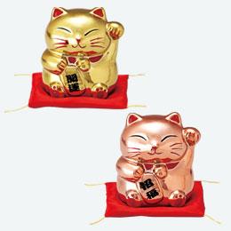 招福・開運招き猫貯金箱