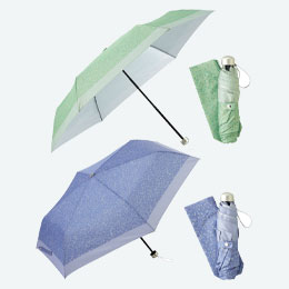 ランダムドット・晴雨兼用折りたたみ傘
