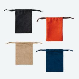 スウェードスタイル巾着(S)