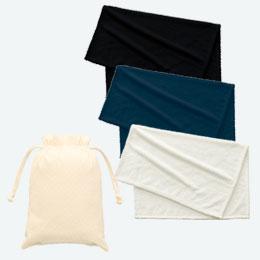 ピケブランケット(巾着付)