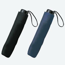 一振りで雨水が切れやすい折り畳み傘