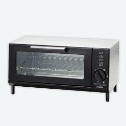 オーブントースター1台(シルバー)