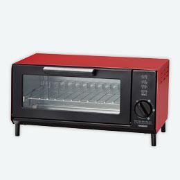 オーブントースター1台(レッド)