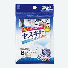 ココフキ ピカ磨きキッチンクロス8枚入(セスキ)