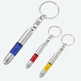 静電気を軽減するキーホルダー1個