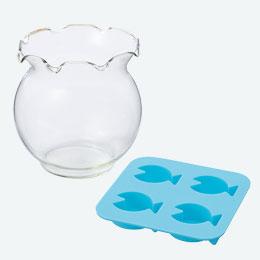 金魚鉢ソーダグラス